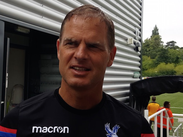 De Boer: Benteke is staying put